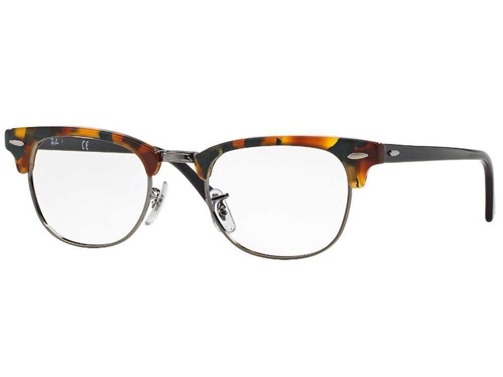 12980a9d5 óculos de grau ray ban clubmaster original rb5154 5493 49. Carregando zoom.