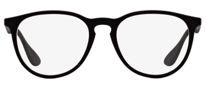 00980ca8baade Óculos De Grau Ray Ban Erika Rb7046 Preto Tam 51 - R  269,90 em Mercado  Livre