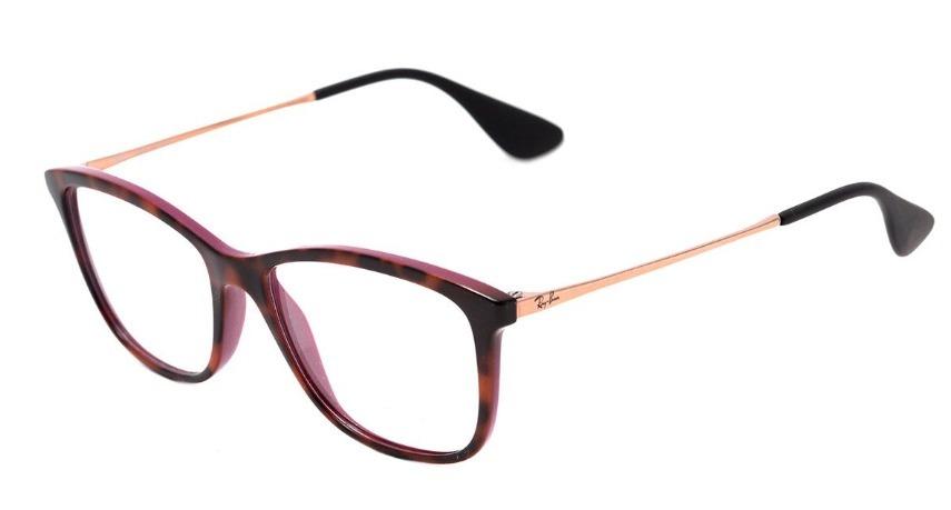9f9ba7c0ec8bb óculos de grau ray ban feminino rb7135l 5823  15. Carregando zoom.