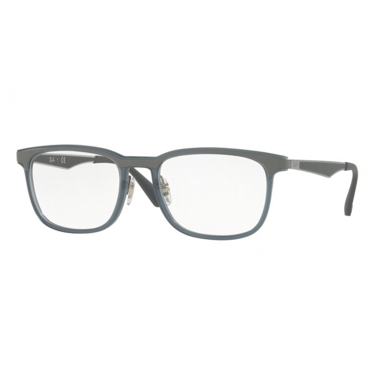 eb2a60dd3 óculos de grau ray ban original masculino rb7163 5679 tam.55. Carregando  zoom.