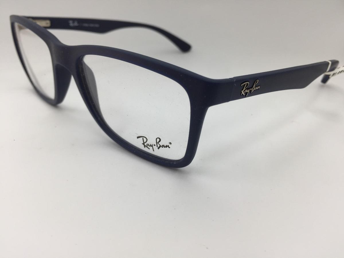 6eb9c03ea oculos de grau ray ban rb 7027l 5412 54 original. Carregando zoom.