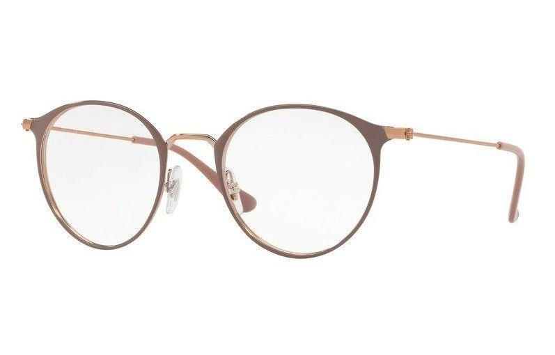 6d99c9efb Óculos De Grau Ray Ban Round Metal 2904 Preto Lente - R$ 219,90 em ...