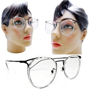 29b4f6eee Oculo Grau Rosto Redondo - Óculos no Mercado Livre Brasil