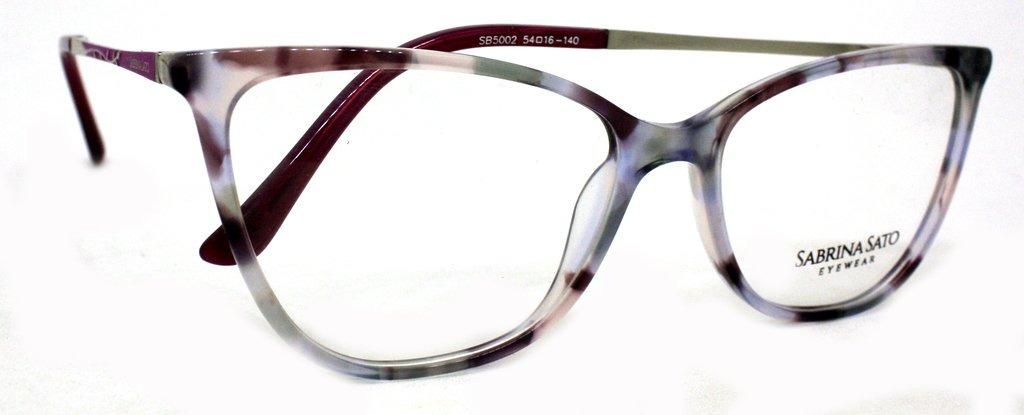 d547ed48b óculos de grau sabrina sato sb5002 acetato c2 rosa original. Carregando  zoom.