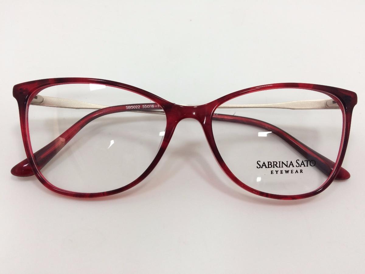 916c2bd71 Oculos De Grau Sabrina Sato Sb5022 55 16 142 C4 - R$ 291,00 em ...