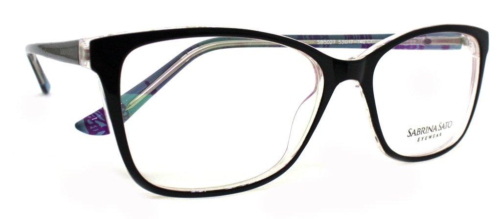 fbd2ddcc1 óculos de grau sabrina sato sb5027 acetato c1 preto original. Carregando  zoom.