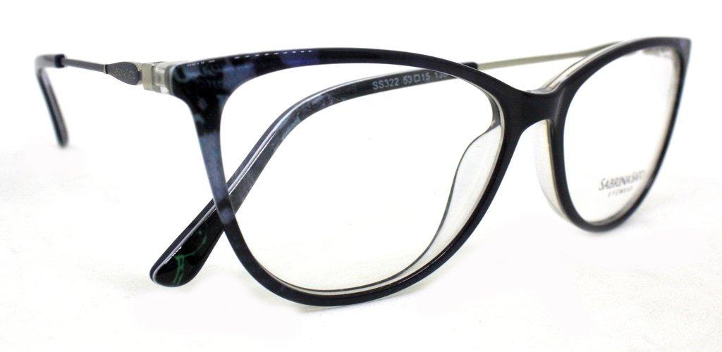 5e4848d92 óculos de grau sabrina sato ss322 acetato c2 azul original. Carregando zoom.