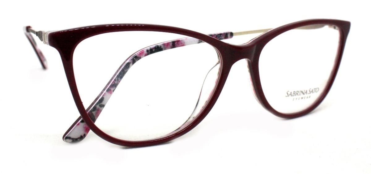 457d494ba óculos de grau sabrina sato ss322 acetato c3 preto original. Carregando  zoom.