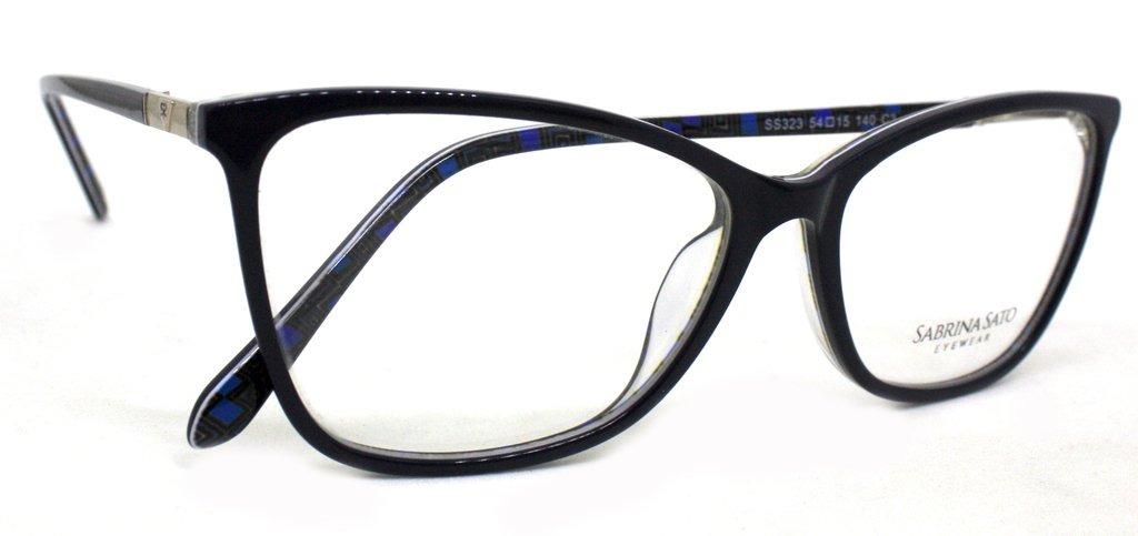 óculos de grau sabrina sato ss323 acetato c3 preto original. Carregando  zoom. 3ae0a1964c