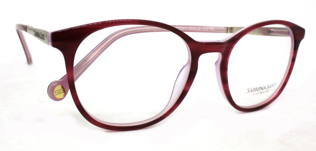 6b7712b7e óculos de grau sabrina sato ss341 acetato c2 vermelho origin. Carregando  zoom.