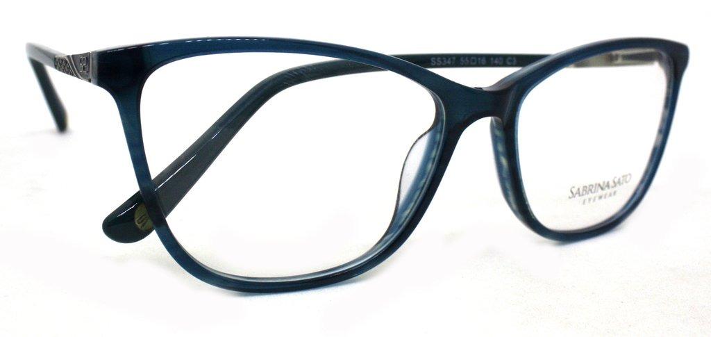 fe5fd5f7d óculos de grau sabrina sato ss347 acetato c3 azul original. Carregando zoom.