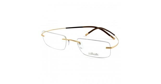 24bff0dbab8b0 Óculos De Grau Silhouette 7577 20 6050 Titânio Unissex - R  1.999