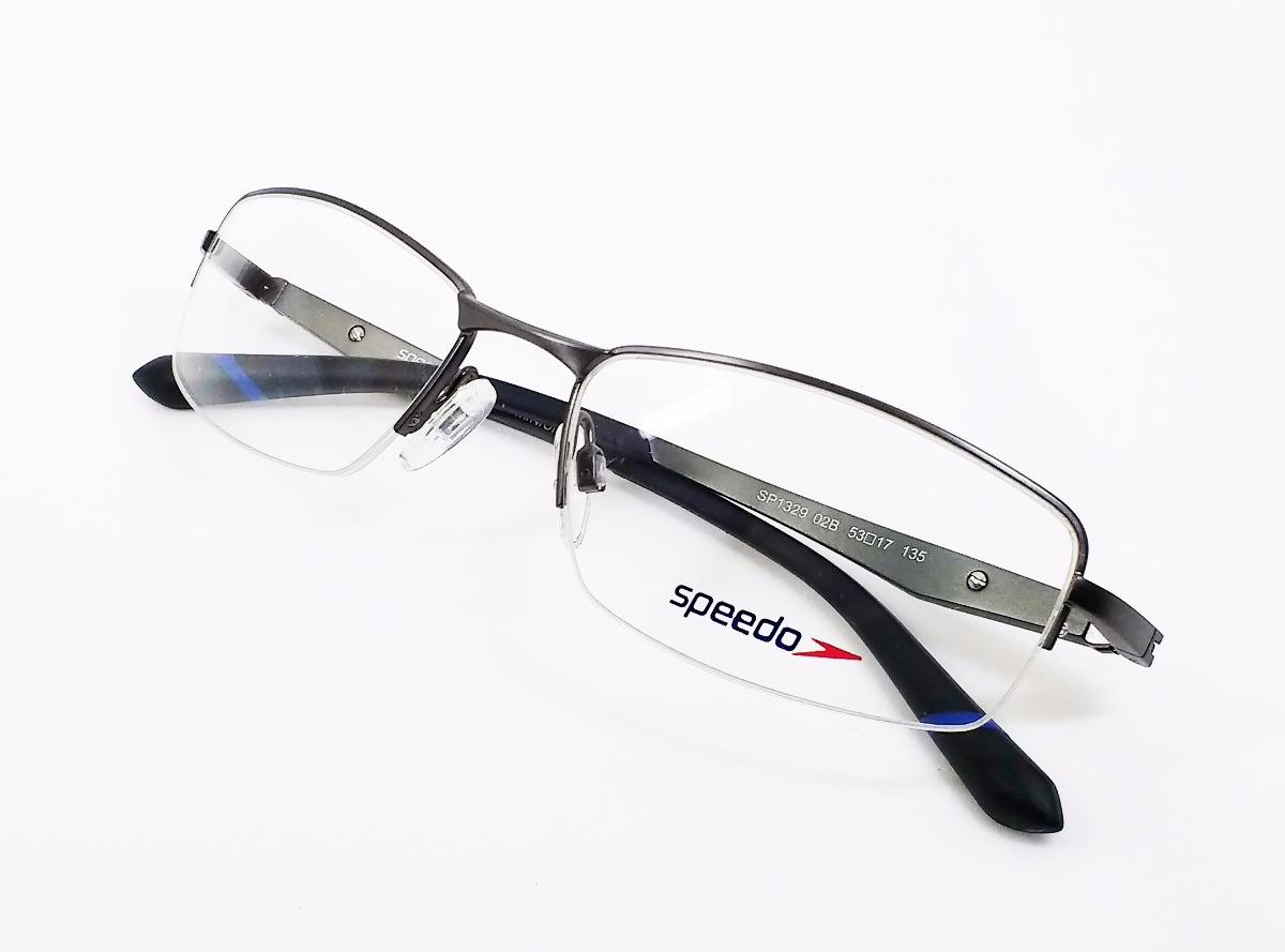 639aed474 Óculos De Grau Speedo Aluminium Sp1329 - Original - R$ 330,00 em ...