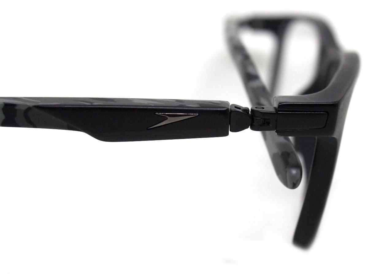 Óculos De Grau Speedo Hastes 360º Sp4055 (preto) Original - R  321 ... ffc6a63dd2