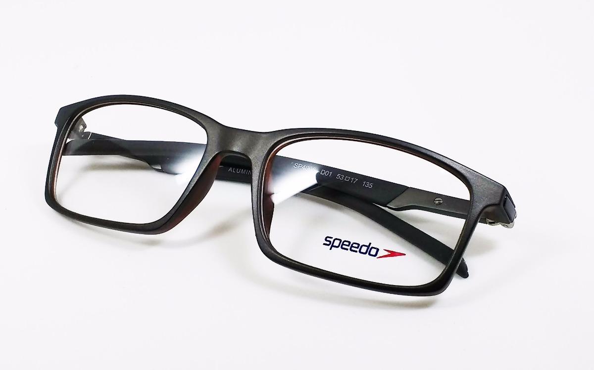 946469a75 Óculos De Grau Speedo Sp4005 - Original - R$ 325,00 em Mercado Livre