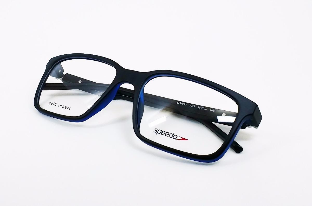 d079b193e Óculos De Grau Speedo Sp4017 - Original - R$ 325,00 em Mercado Livre