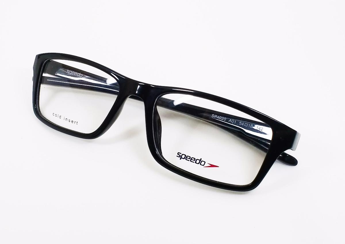 bc1f24b48e754 Óculos De Grau Speedo Sp4020 - Original - R  325