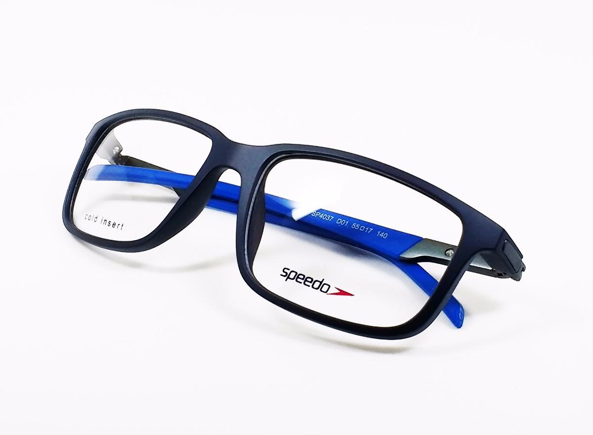 9e0b6021a Óculos De Grau Speedo Sp4037 - Original - R$ 261,00 em Mercado Livre