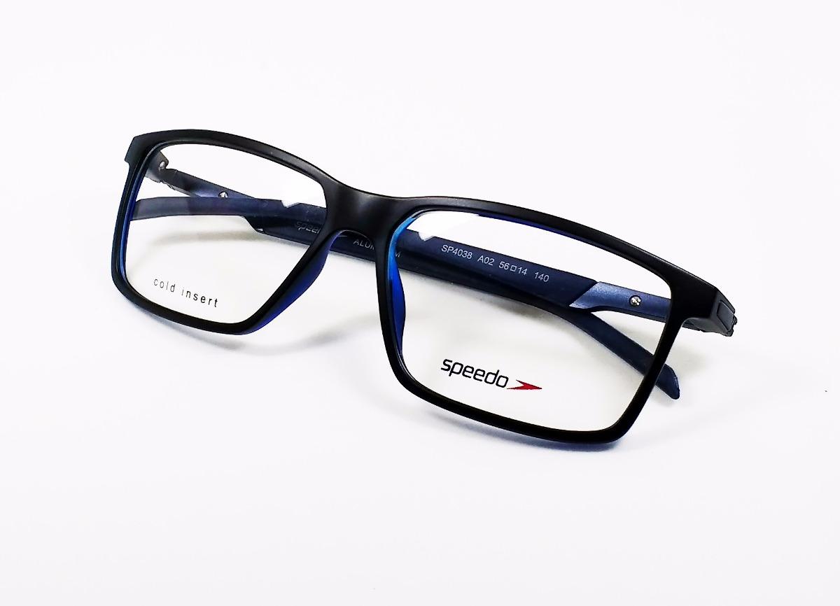 0e240941ae050 Óculos De Grau Speedo Sp4038 - Original - R  360,00 em Mercado Livre