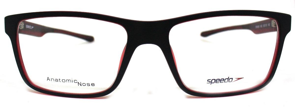Óculos De Grau Speedo Sp4059 (preto vermelho A02, 58-18-140) - R ... 22cc509e1f