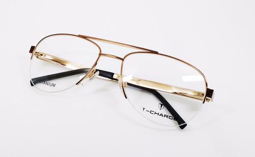 Óculos De Grau T-charge Titanium T1013 - Original - R  299,50 em ... 6df4d37bba