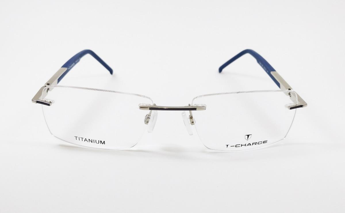 Óculos De Grau T-charge Titanium T1092 03c - Original - R  299,00 em ... 43c97638f2