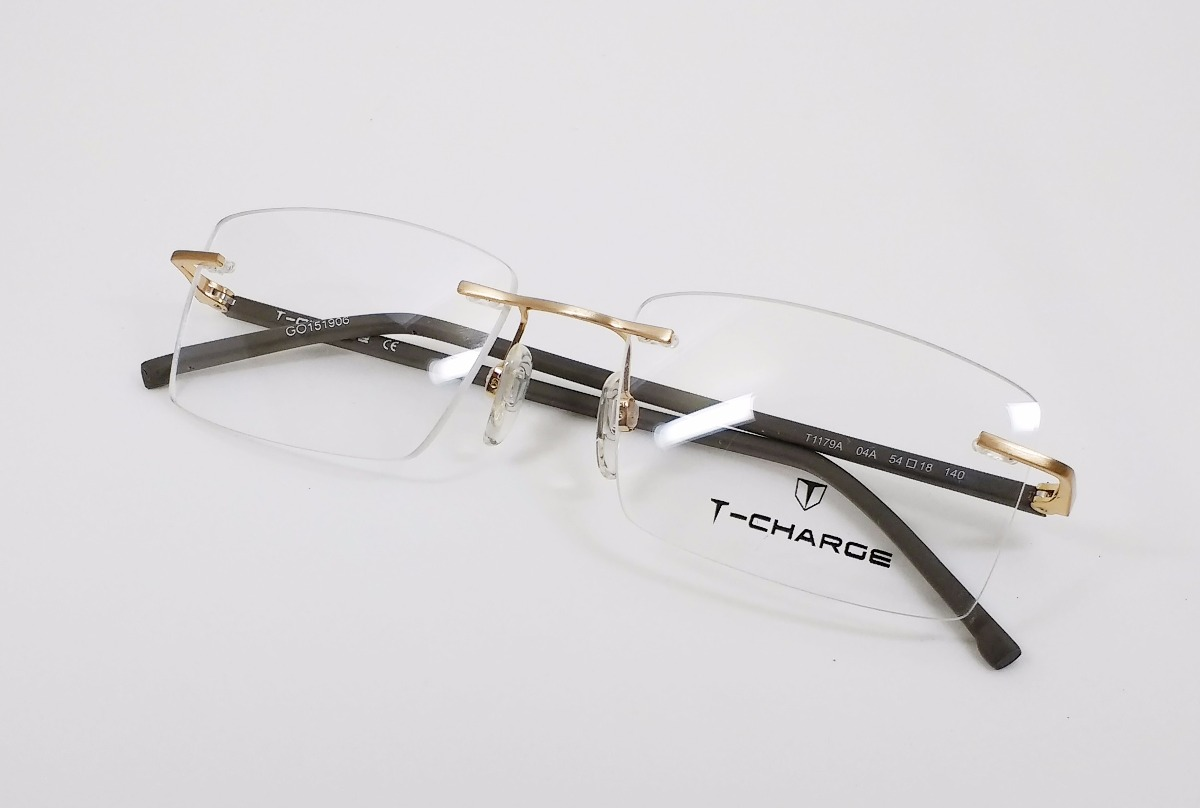 Óculos De Grau T-charge Titanium T1179a - Original - R  299,99 em ... 6a157599c3