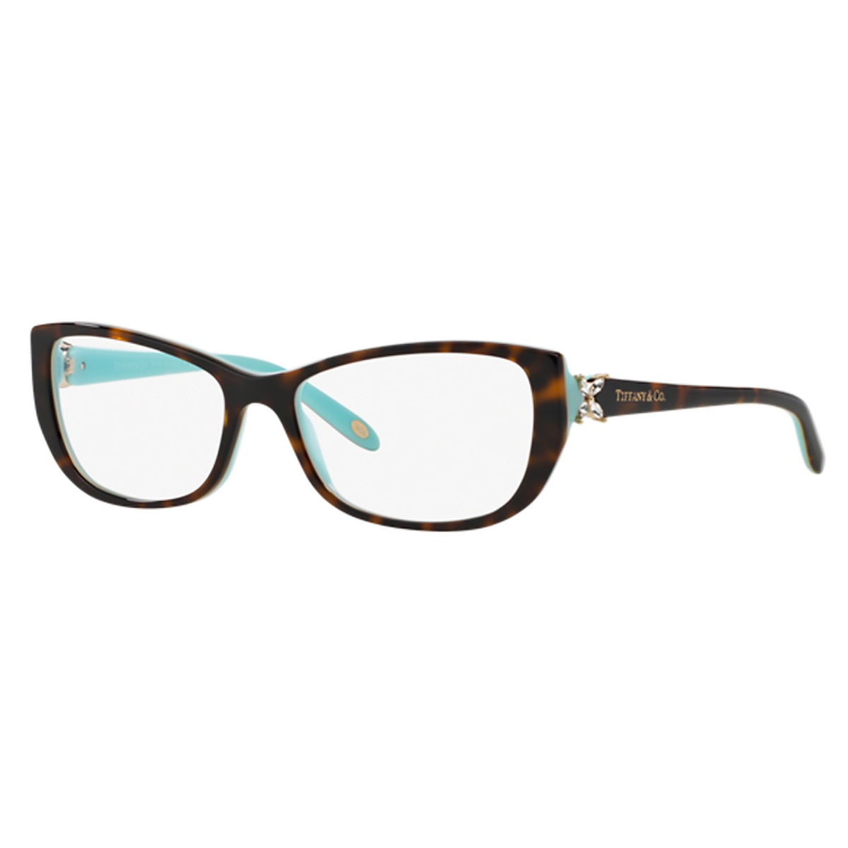 7956d8f0e2f63 Óculos De Grau Tiffany   Co. Tf2044-b 8134 - R  1.298