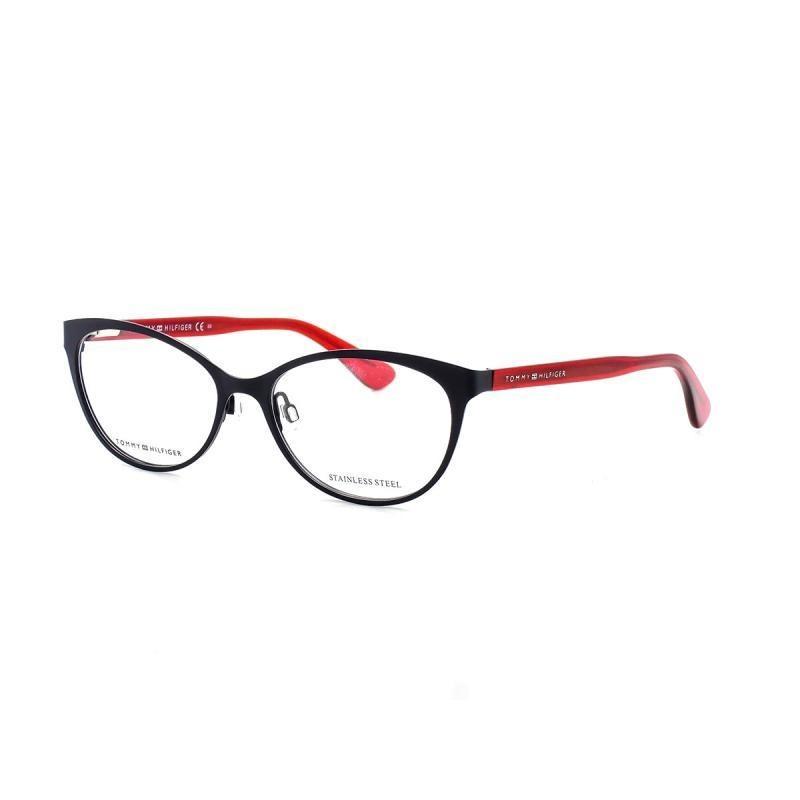 bc4ca5342 Óculos De Grau Tommy Hilfiger 1554 T 54 C Pjp Preto - R$ 300,00 em ...