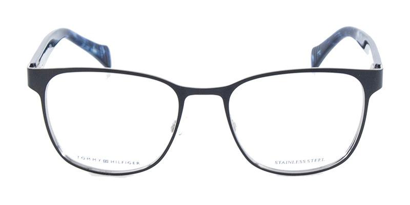 Óculos De Grau Tommy Hilfiger Th1290 Preto Fosco - R  399,90 em ... 793e7cf5f8