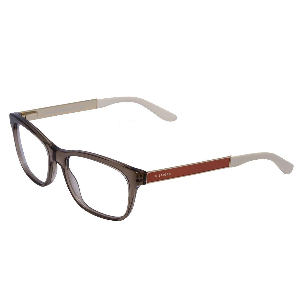 a5ef8973ddc68 óculos de grau tommy hilfiger th1321 cogz - acetato nude. Carregando zoom.