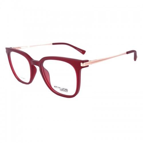 86679bf304566 Óculos De Grau Vermelho Atitude At4039 T01 - Original - R  209