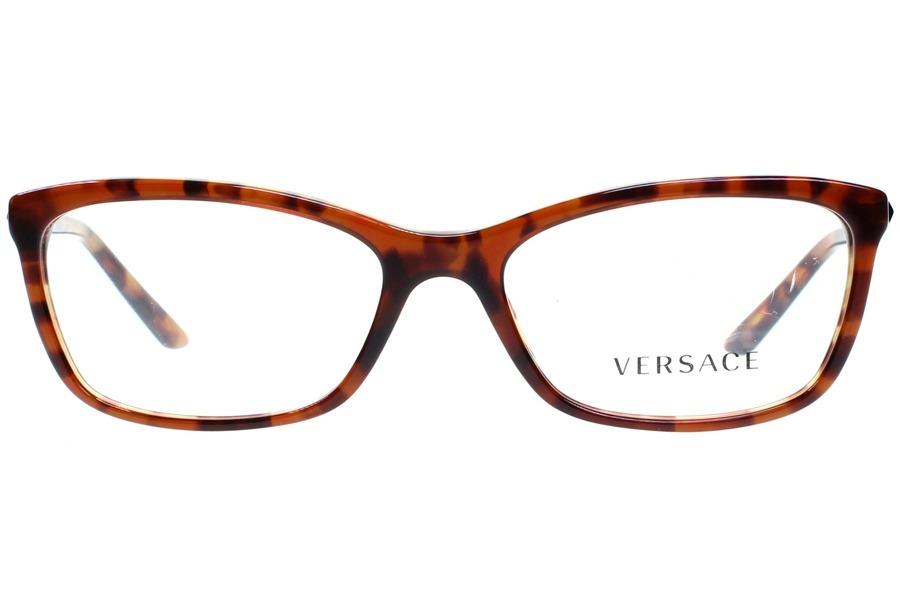 óculos de grau versace ve3186 5077 54 havana ambar havana. Carregando zoom. e6415eb806