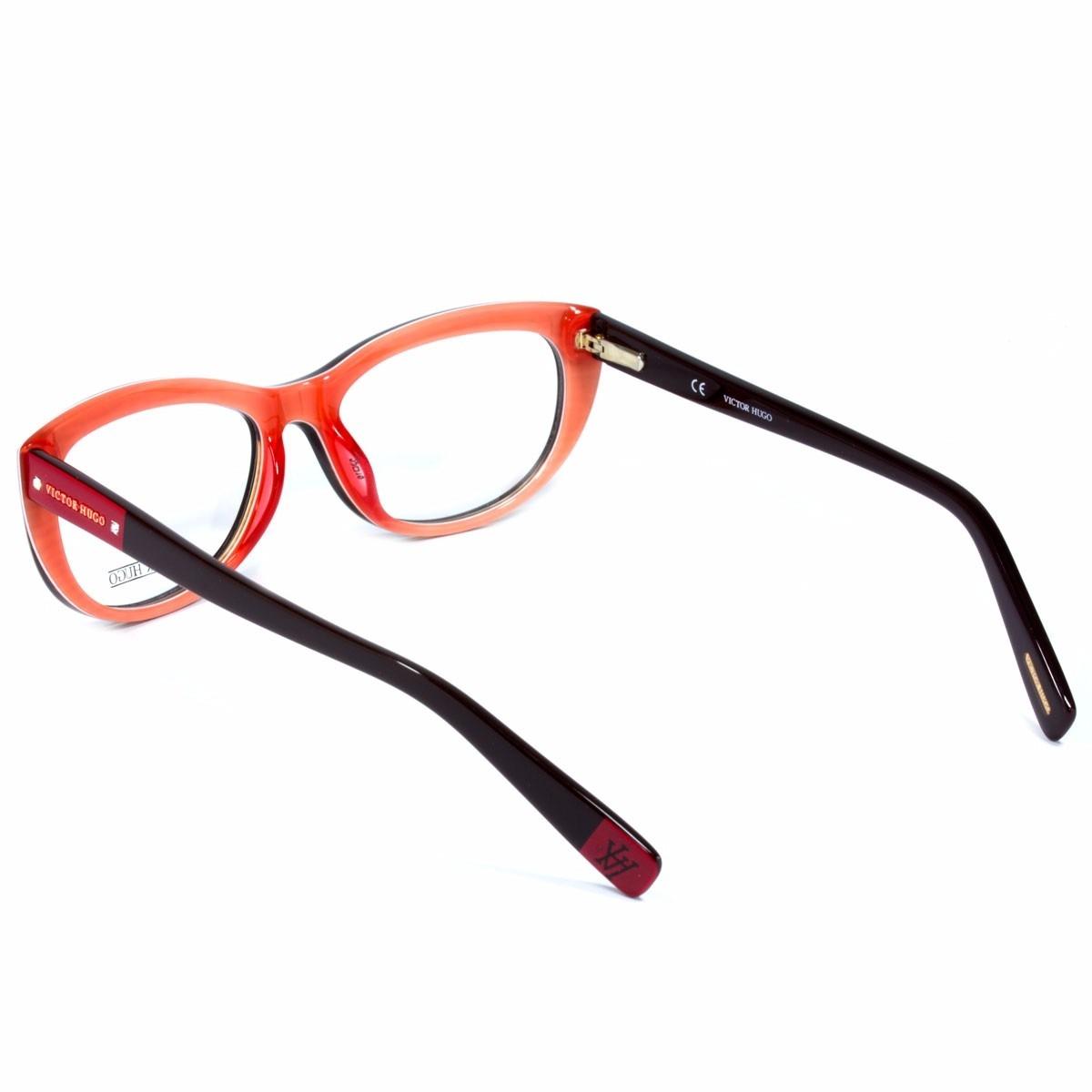 b35cb3e1efc2e Óculos De Grau Victor Hugo - Vh 1663s 0an2 53 L3 - R  627