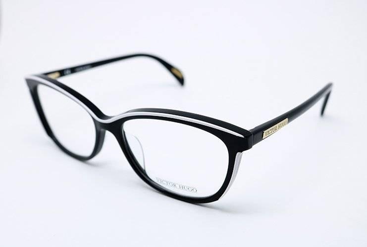 Óculos De Grau Victor Hugo Vh1757 Preto - R  933,00 em Mercado Livre 04900625a7