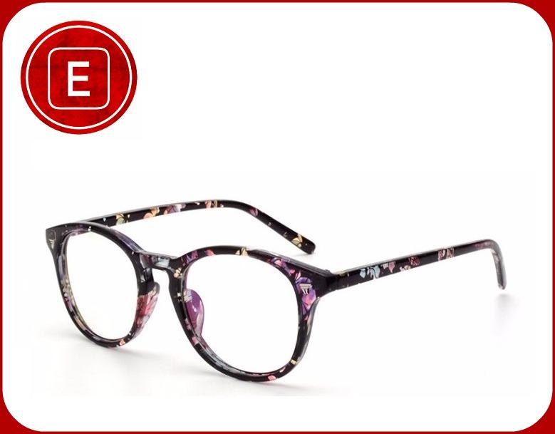Óculos De Grau Vintage Nerd Geek Retrô Floral 2018 - R  89,00 em ... 0e598bf337