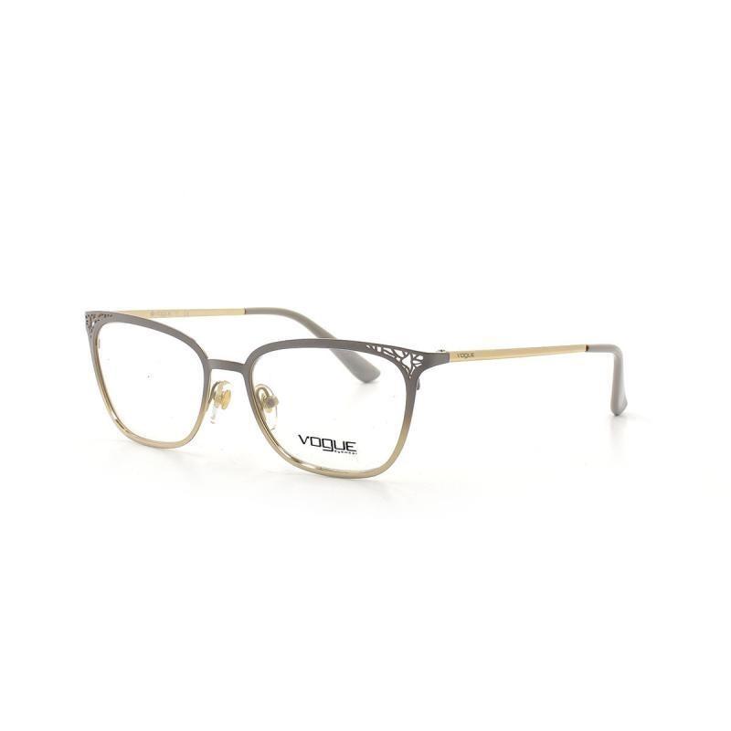29c8fb23da592 óculos de grau vogue 4103 t 52 c 5088 metal nude e dourado. Carregando zoom.
