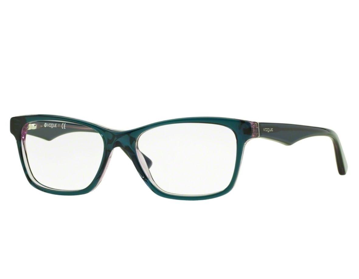 Óculos De Grau Vogue Azul   Lilás Vo2787 2267 Tam.53 - R  359,00 em ... 243aed6dba