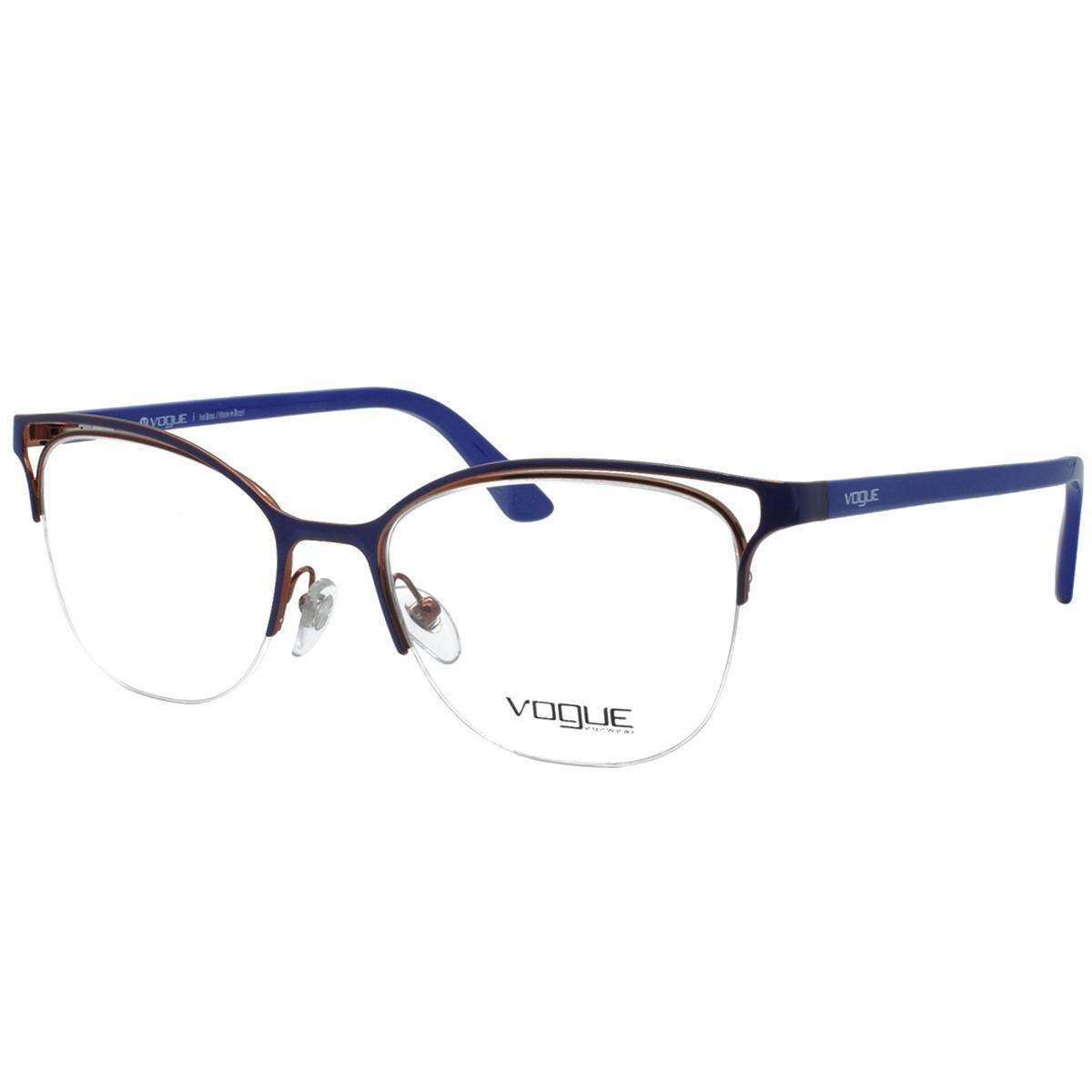 cf484af2b8acf óculos de grau vogue feminino original vo4087l 5080. Carregando zoom.