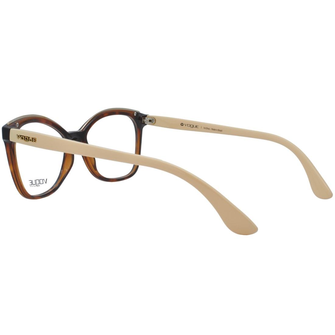 0203c54c32a96 Óculos De Grau Vogue Feminino Original Vo5160l 2649 - R  423,00 em ...