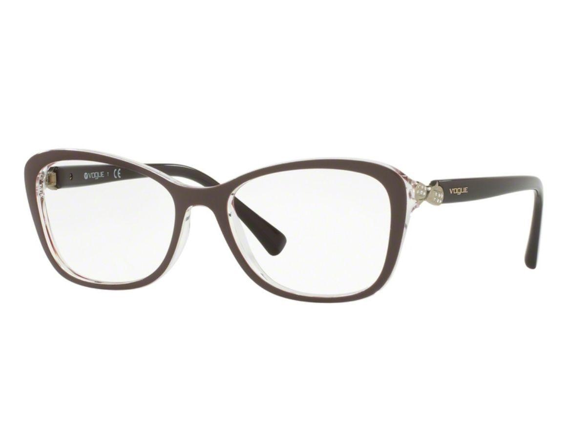 eb18bb29c óculos de grau vogue feminino retrô vo5095b 2465 tam.54. Carregando zoom.