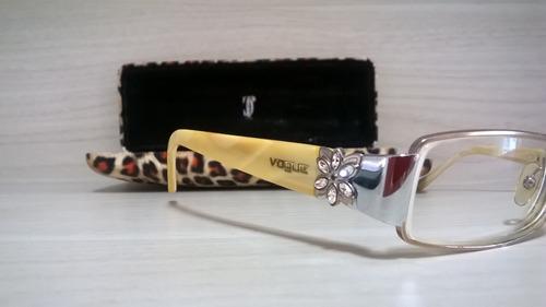 496ce5124 Óculos De Grau Vogue Original Em Bom Estado Completo - R$ 89,00 em ...