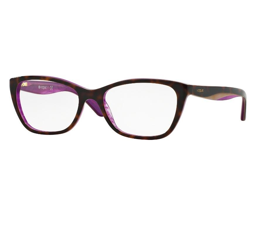 c17e577da Óculos De Grau Vogue Vo 2961 2019 Feminino Lente 5,3 Cm - R$ 245,00 ...