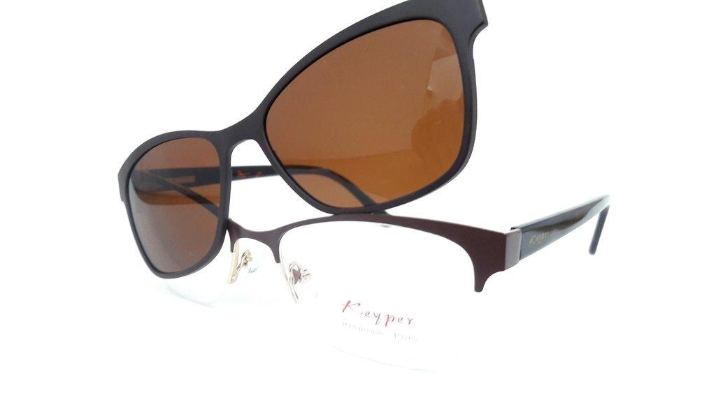 3e7a19dcb Óculos De Keyper Clipon 8038 C1 52 - R$ 359,55 em Mercado Livre