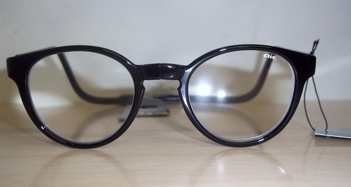 óculos de leitura clic big round preto c ímã muito prático!! Carregando  zoom. 38a0214723