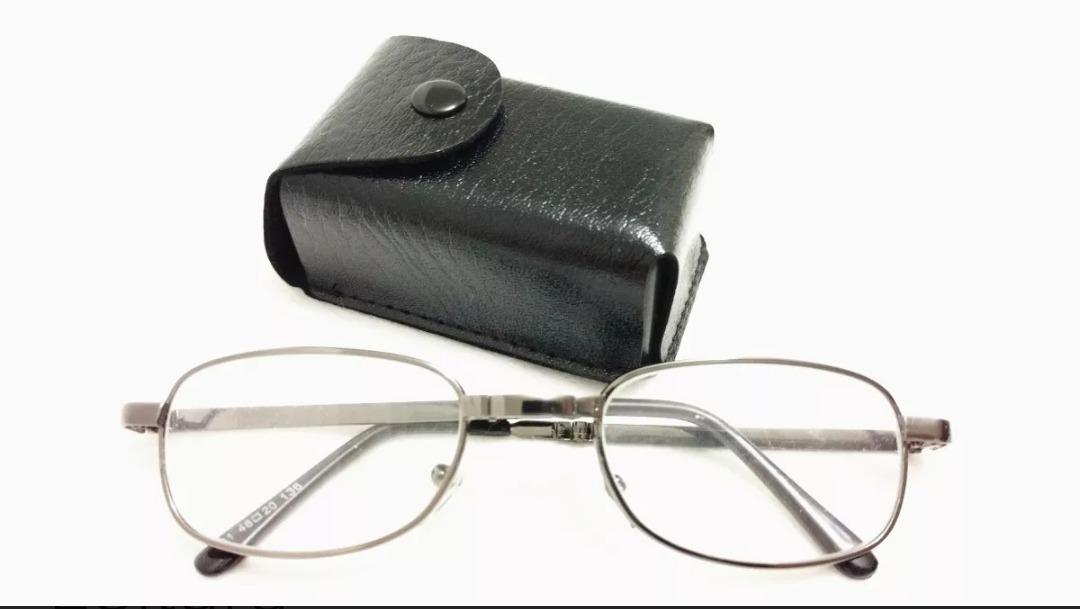Óculos De Leitura Dobrável+case Grau +1,00 - R  34,90 em Mercado Livre 908ee2eb22