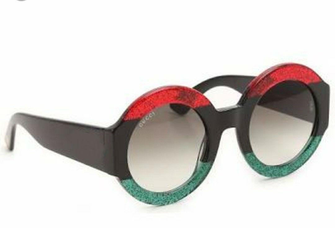 1e37f2be9de90 óculos de luxo redondo marca famosa estiloso importado round. Carregando  zoom.