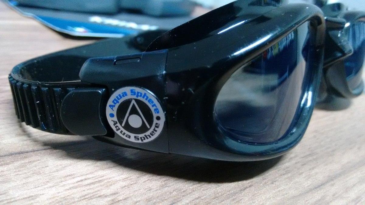 18b7190a8 óculos de natação aqua sphere kaiman preto. Carregando zoom.