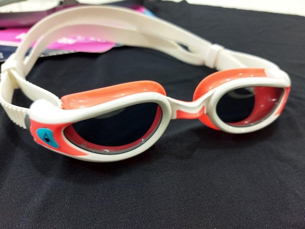 66b49479d óculos de natação aquasphere kaiman exo ladies lente fumê. Carregando zoom.