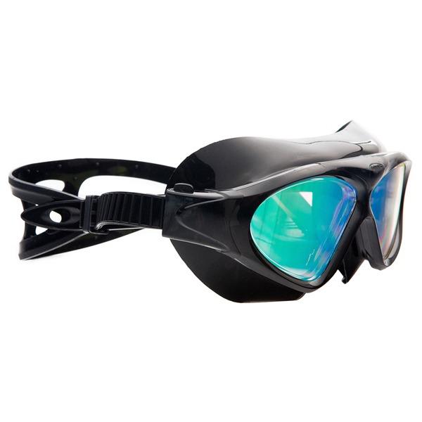 2a9f842e8 Óculos De Natação Cetus Uaru Silicone Hd Lens - Preto Espelh - R ...